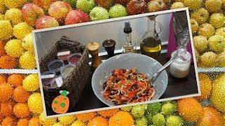 №29. Салат с фасолью и помидорами