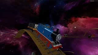 Thomas and Friends Super Truck Roller Coaster in Space Thomas the Engine Roblox