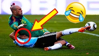 Best funny football vines 2016 ● goals l skills l fails #25