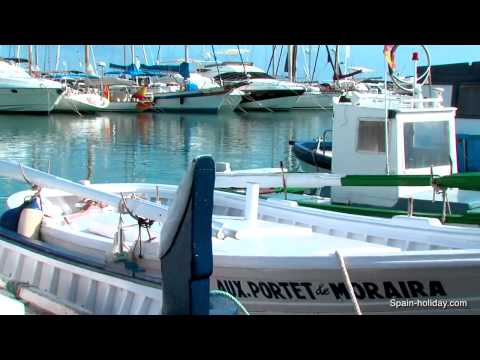 Travel guide Moraira, Costa Blanca – video, facts and maps