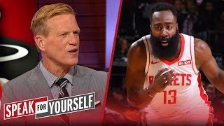 Ric Bucher on why James Harden's offensive numbers are deceptively high | NBA | SPEAK FOR YOURSELF