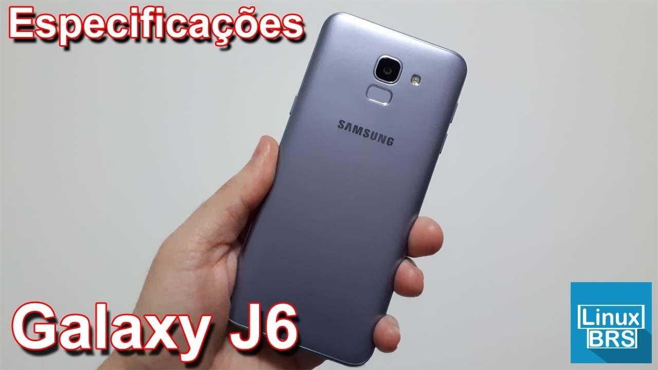 55ce8bdaf5 Samsung Galaxy J6 - Especificações - YouTube