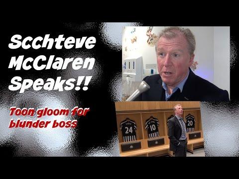 Newcastle sack Steve McClaren - Blunder boss speaks!