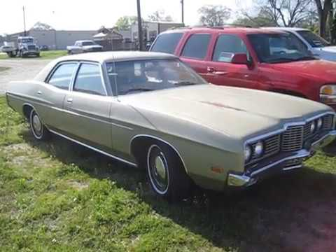 1972 ford galaxie 500 not too shabby youtube. Black Bedroom Furniture Sets. Home Design Ideas