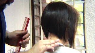 Bob Haircut tutorial /Beauty  Bob Cut / Peinado Bob / tutorial / como hacer / paso a paso