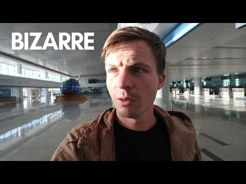 Alone in an Empty North Korean Airport