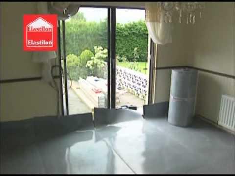 Installing Hardwood Floors On Concrete Elastilon Youtube