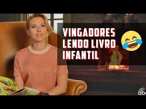 Vingadores se Reúnem no Programa do Jimmy Kimmel para Ler a Adaptação Infantil de GUERRA INFINITA