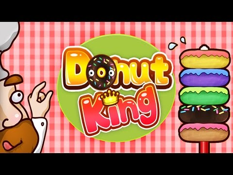 DonutKing - Match same donut Android Gameplay ᴴᴰ