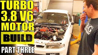 HOW TO BUILD A 3800 L27 FOR BOOST - PART 3 - VR V6 TURBO COMMODORE
