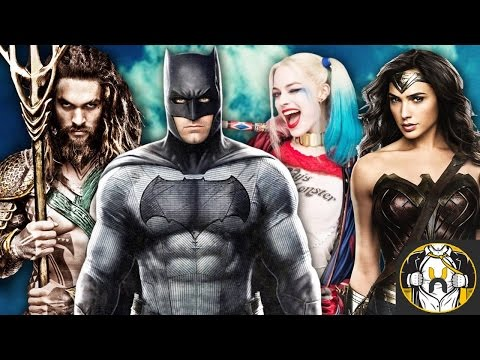 The Potential DCEU Film Slate Update