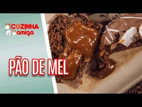 Pão de Mel com Trufa de Frutas - Dalva Zanforlin | Cozinha Amiga (21/06/18)