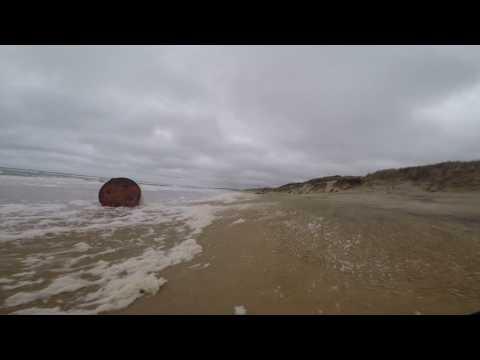 Playa Solanas de Punta Ballena, hacia el Oeste, playa Chihuahua.