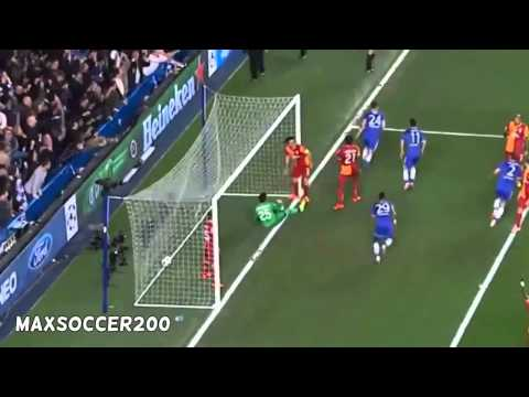 Chelsea 2-0 Galatasaray ~ All Goals & Highlights Champions League 18 03 2014