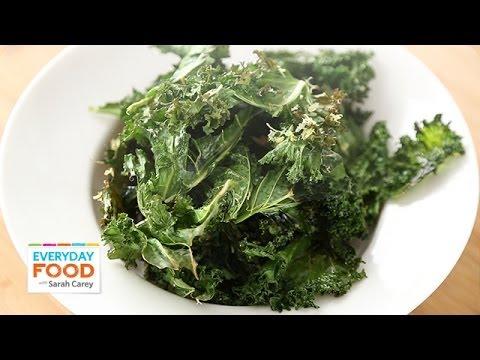 Kale Chips - Everyday Food With Sarah Carey