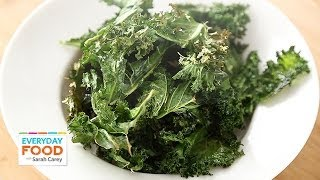 Kale Chips - Everyday Food With Sarah Carey