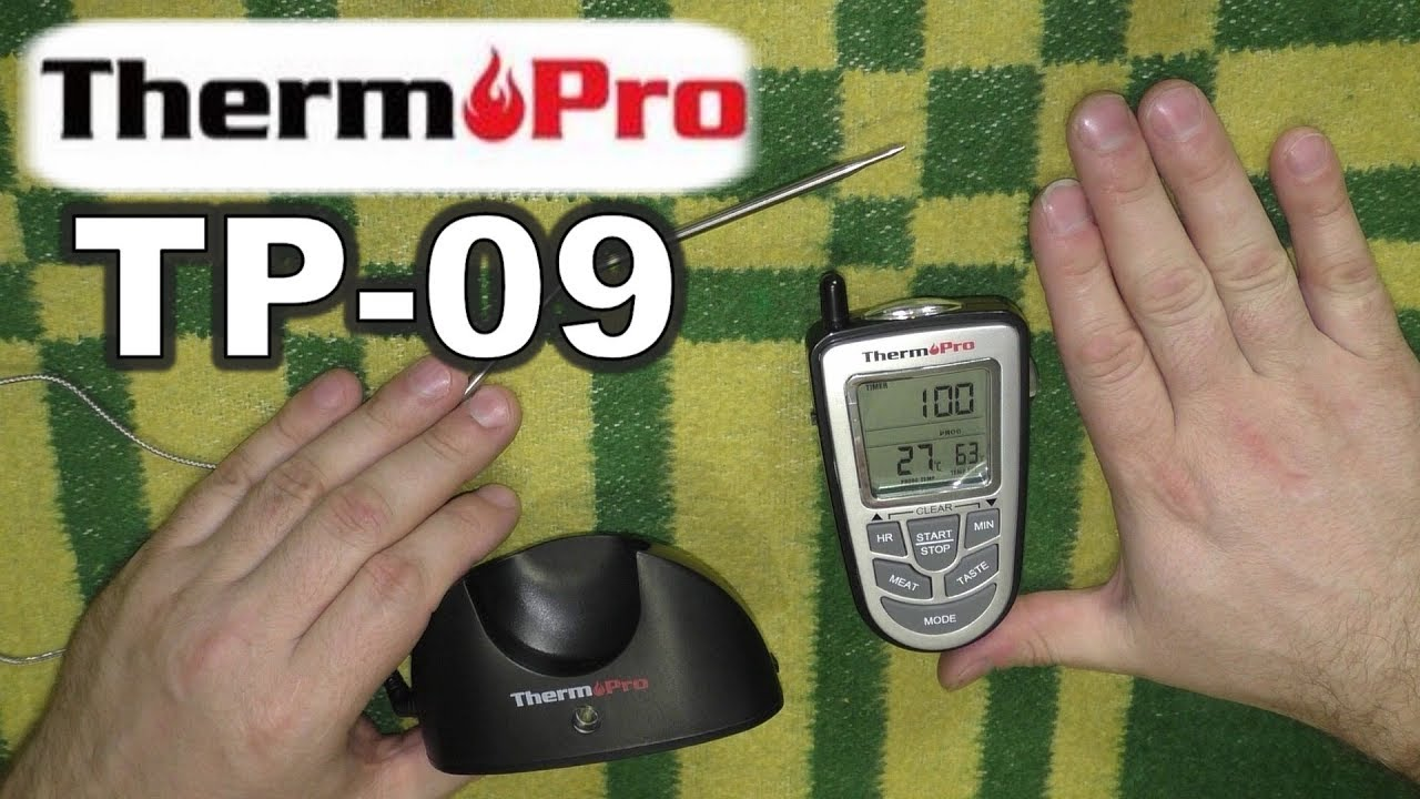 Küchenprofi Thermometer Digital Thermopro Tp 09 Remote Coocking Thermometer Обзор и тест