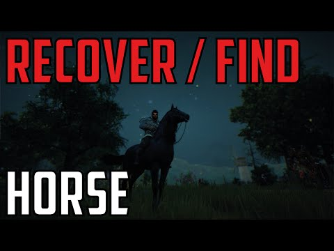 [Guide] How to recover and/or find your horse - Black Desert