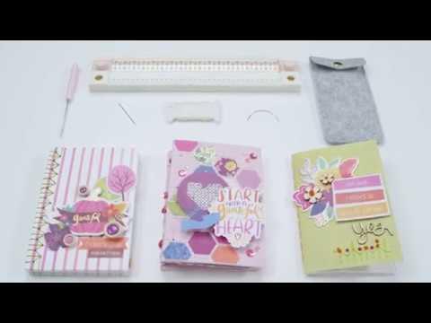 Pink Paislee Book Binding Guide