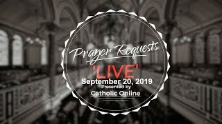 Prayer Requests Live for Friday, September 20th, 2019 HD Video