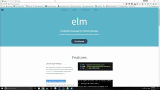 Elm Tutorial part 1