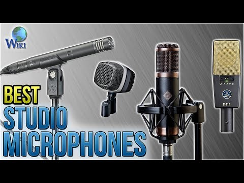 10 Best Studio Microphones 2018