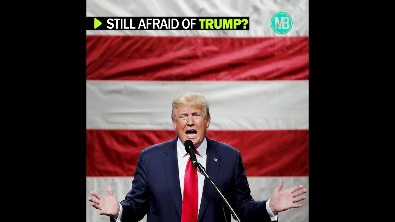 Still afraid of Donald Trump?