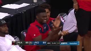 Nickiel Alexander Walker Full Highlights Pelicans vs Heat 2019 07 13 Summer League   34 Pts!