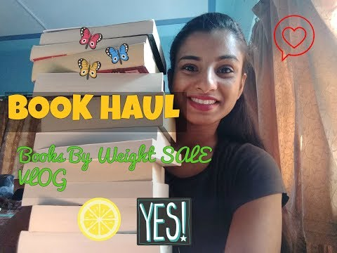 BOOK HAUL // Books By Weight Sale VLOG // Where To Buy Books For Cheap In Mumbai?
