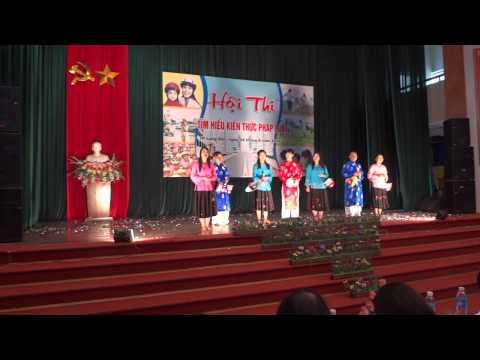 Hội thi Tìm hiểu kiến thức pháp luật 2012 TP-Lạng Sơn - Màn chào hỏi P-Chi Lăng