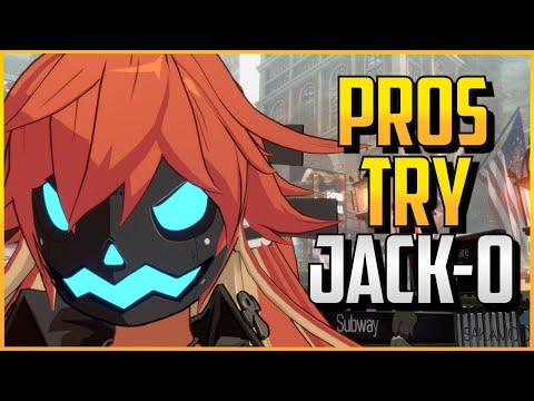 GGST ▰ Pros Try Jack-O FT. Kazunoko, SonicFox, Fenritti【Guilty Gear Strive】