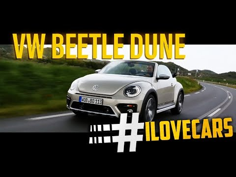 VW Beetle Dune Cabrio 2016 Test 1.4 TSI 150 PS / review - #ilovecars