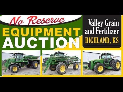 Valley Grain & Fertilizer Auction - Highland, KS 4/19/18