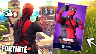 BRAND NEW DEADPOOL SKIN CHALLENGE!! O-O | Fortnite Pt.6 [Duo Squad] Super Heroes Season