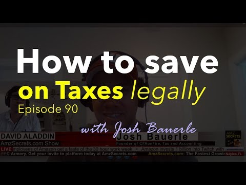 How to save more on taxes with Josh for e-Commerce and Amazon Sellers