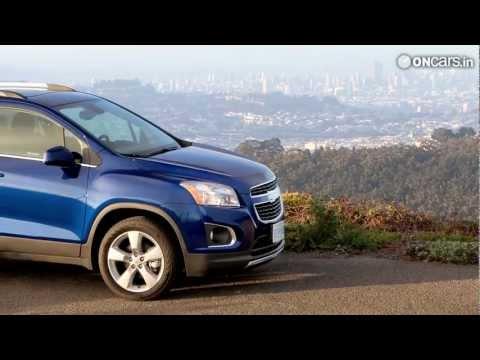 2013 Chevrolet Trax revealed - 2012 Paris Motor Show