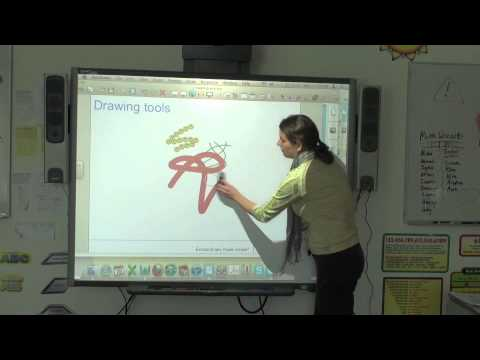 SMART Board - Level 1 - 2e - Drawing Tools - Eraser - YouTube