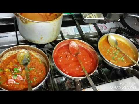 Cooking at Indian takeaway / restaurant