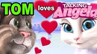 TALKING ANGELA: Tom Cat is in LOVE