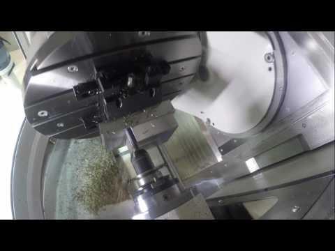 Frezarko-tokarka (mill-turn)  GROB G350   Eureka Virtual Machining v.8
