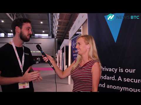 Verge Interview On NetCents Partnership - Barcelona Crypto Economy 2018 Event