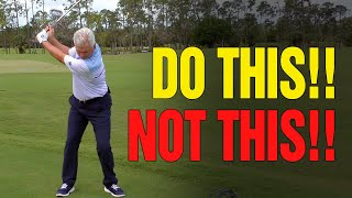 GOLF DRILLS: How To Hit Your Irons Farther (DO This...NOT This!!)