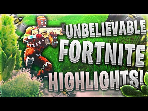 YOU WILL NOT BELIEVE THESE FORTNITE HIGHLIGHTS! (Clickbait?! Come find out)