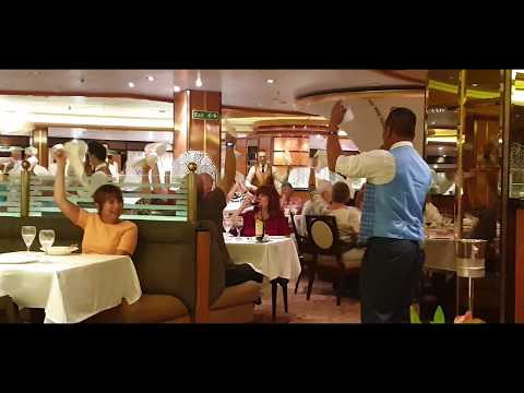 🎉SEE WHAT HAPPENS ON REGAL PRINCESS Last Dining Night in the Symphony Dining Room