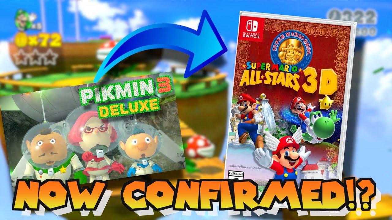 Does Pikmin 3 Deluxe Confirm The 3d Mario Remasters Youtube