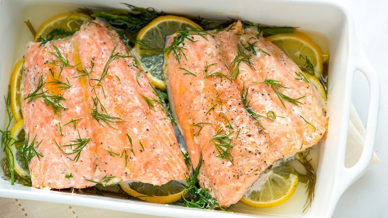 How to oven cook salmon without foil
