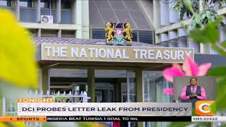 DCI probes another letter leak from presidency