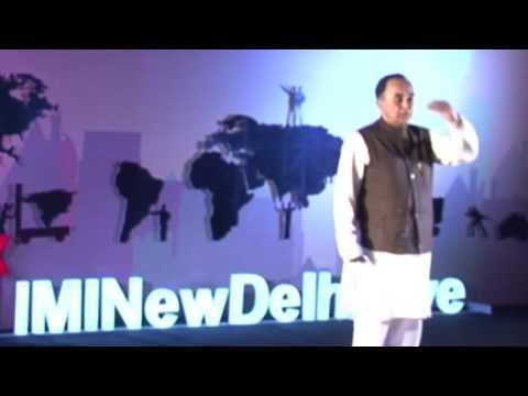 DISCOVER YOUR TRUE IDENTITY | Subramanian Swamy | TEDxIMINewDelhiLive