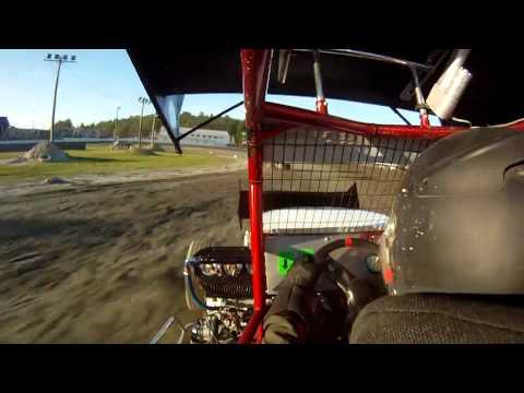 Spencer Allen, Northeast Mini Sprints, Heat Race 6-15-12