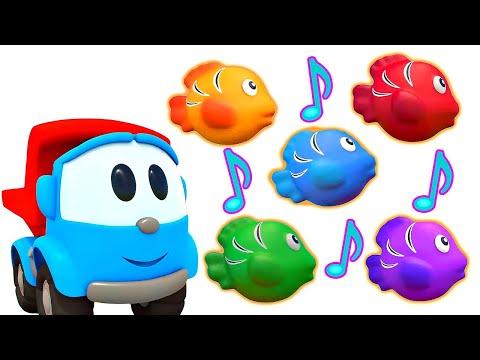 Bebek şarkıları. Leo Ile Balıkları Sayalım! Küçük çocuklar Için çizgi Film